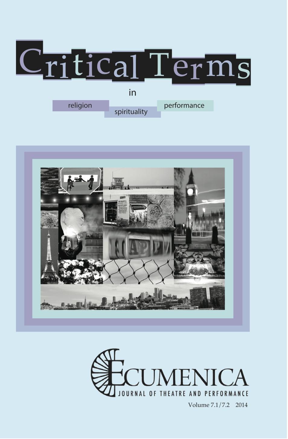 Ecumenica 7.1&2 Cover